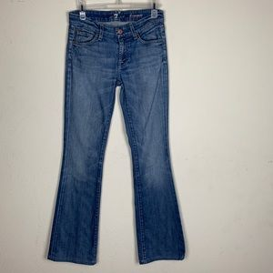 "7 For All Mankind- ""Kimmie"" Med Wash Bootcut sz 26"